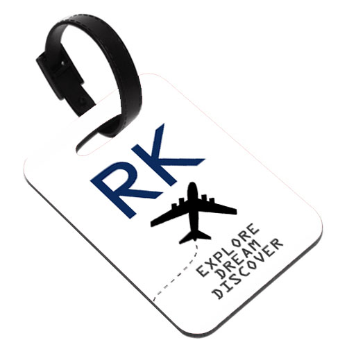 Initials Travel Tag