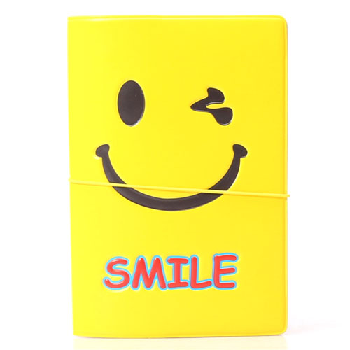 Smiley Passport Holder