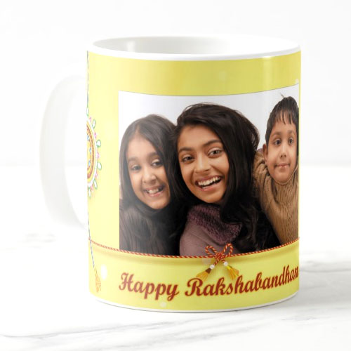 Personalised Rakhi Mug