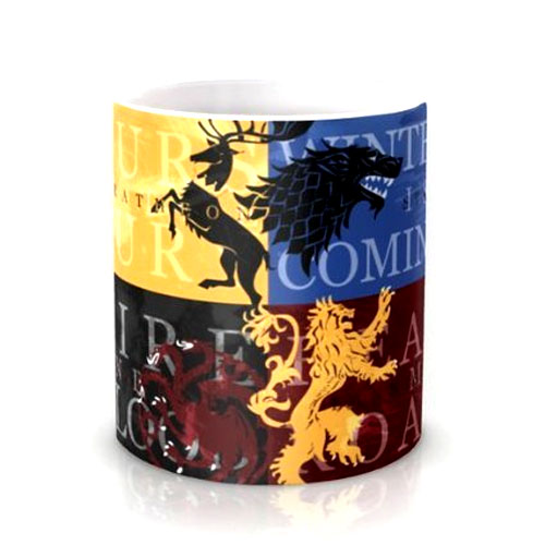 Game Of Thrones Multicolored Coffee Mug