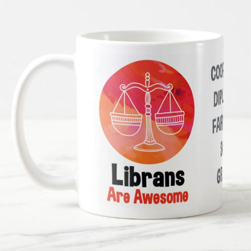 Librans Are Awesome Mug