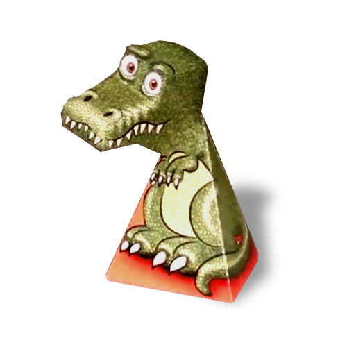 Dinosaur Optical Illusion Kit