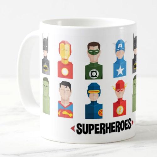 Superheroes Mug