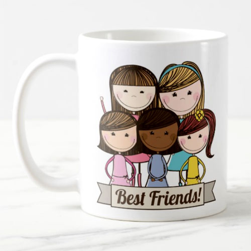 Best Friends Together Mug