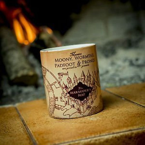 Harry Potters Marauders Map Magic Mug