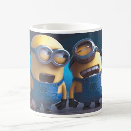 Minions Colored Cartoon Mug