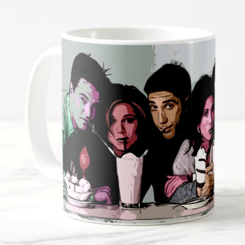 Friends Fan Art Mug
