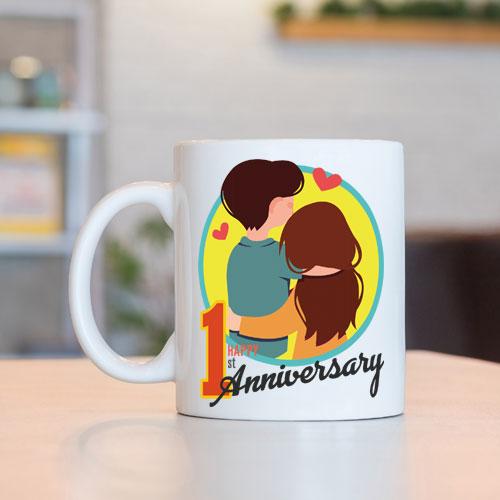 First Anniversary Mug