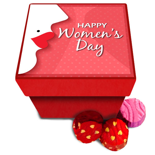 Womens Day Celebrations Chocolate Box