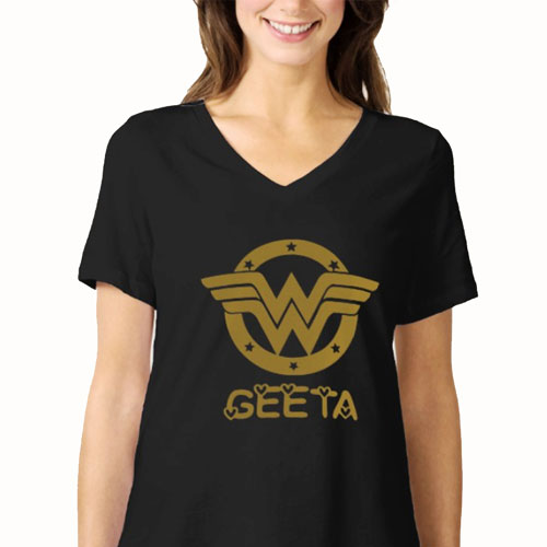 Wonder Girl Personalised Tshirt