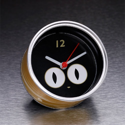 Cat Eyes Clock In A Can