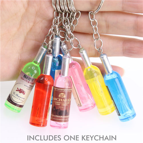 Cute Bottle Keychain