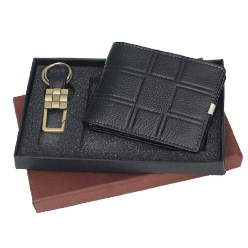 Wallet And Keychain Gift Set