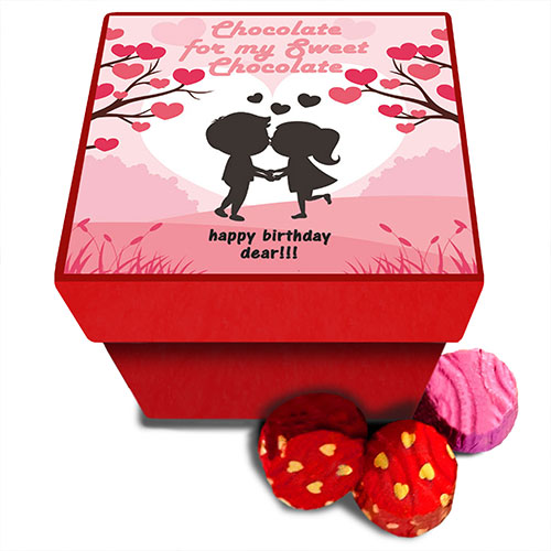Love Personalised Chocolate Box