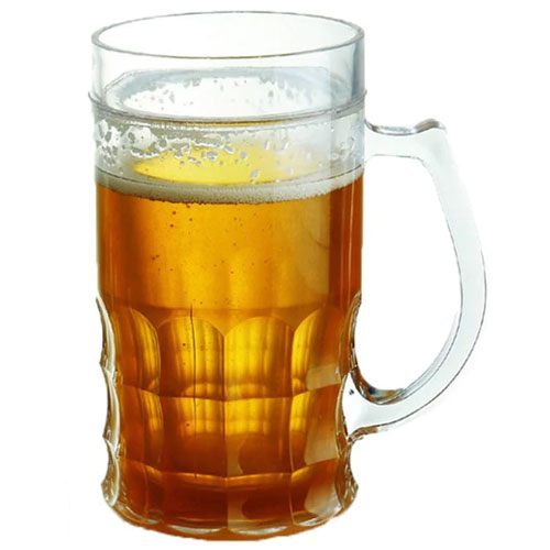 Frosty Beer Wall Mug