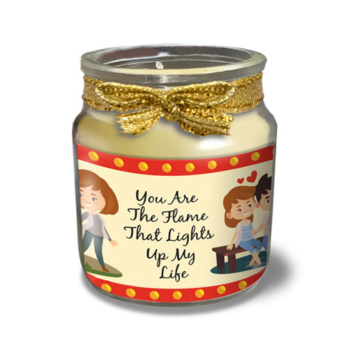 You Are My Flame Love Candle