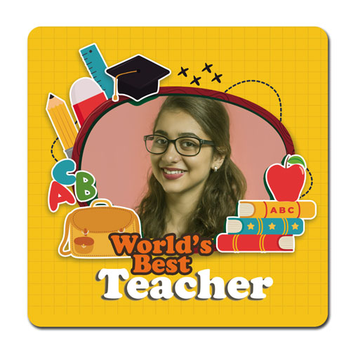 Best Teacher Personalised Magnet