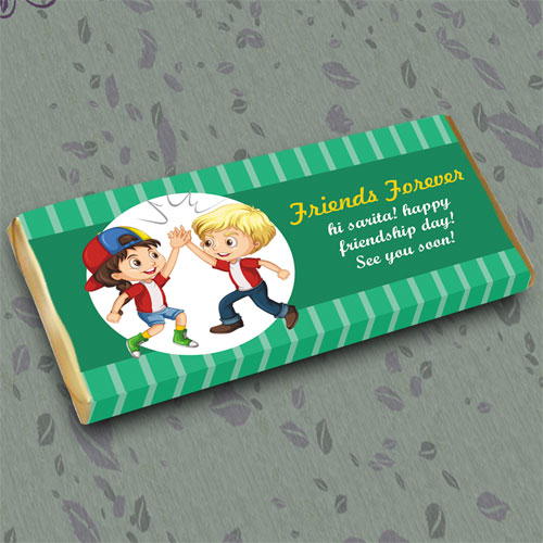 Friends Forever Personalised Chocolate