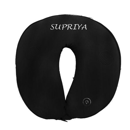 Personalised Travel Pillow With Speaker