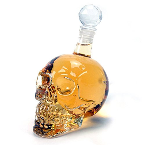 Mini Crystal Head Decanter