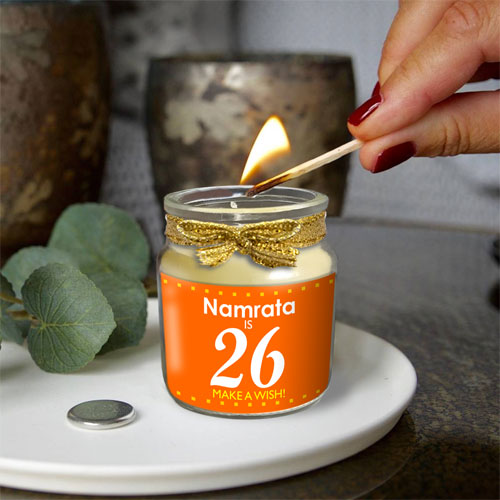 Birthday Personalised Candle