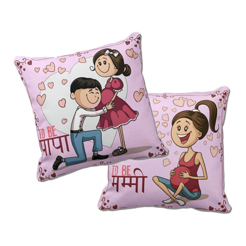 Mom And Dad To Be Cushions Set Of Two