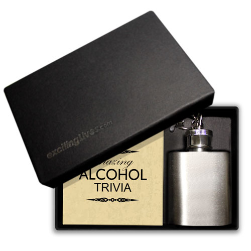 Drinking Gift Box With Mini Flask