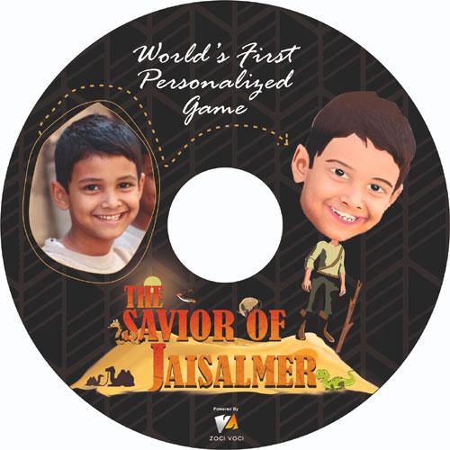 Personalized Video Game - Savior Of Jaisalmer