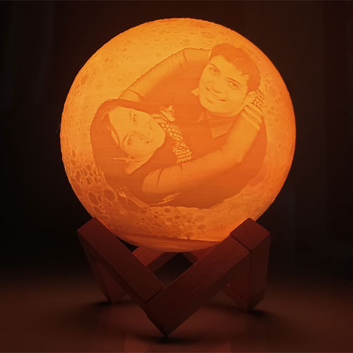 Customized Color Changing Moon Lamp