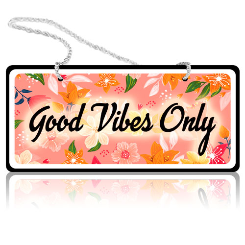 Good Vibes Only - Wall Hanging