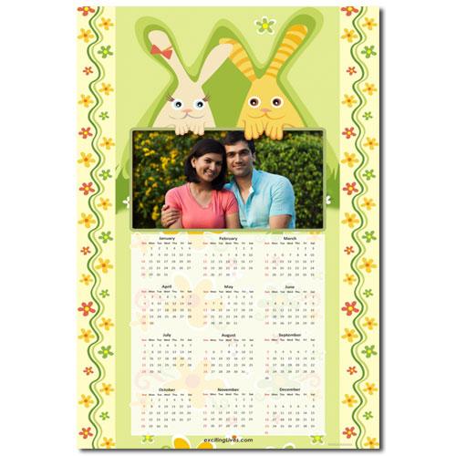 Funny Bunny Calendar