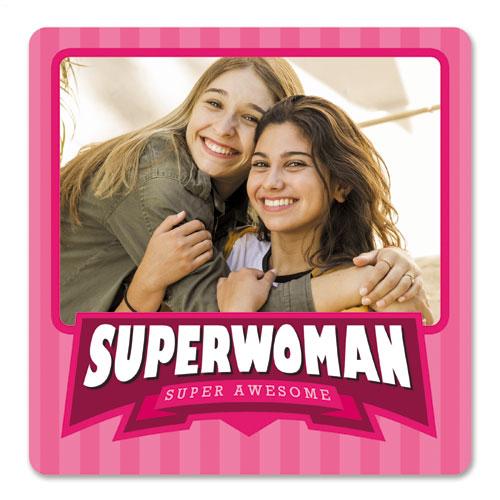 Super Woman Photo Magnet
