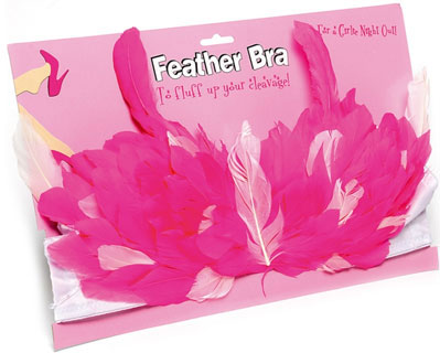 Disco Diva Feather Bra