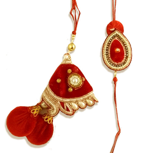 Bhaiya Bhabhi Rakhi Set Of Two