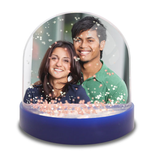 Mini Personalised Snow Globe