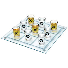 Tic Tac Toe Shot Glasses