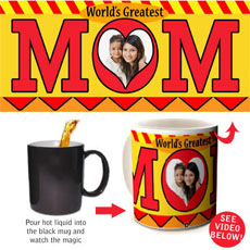 Greatest Mom Magic Mug