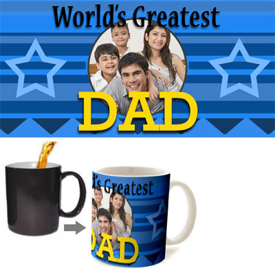 Greatest Dad Magic Mug