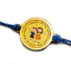 Personalised Message Rakhi