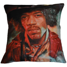 Jimi Hendrix Cushion Cover