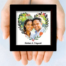 Heart Photo Personalised Mini Frame