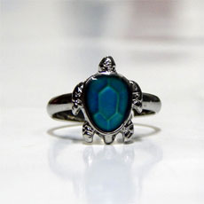 Turtle Color Changing Ring