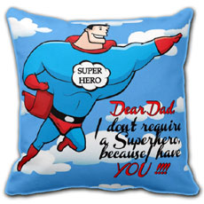 Superhero Cushion