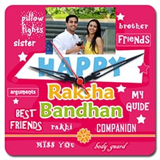 Rakhi Personalised Clock