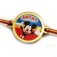 Micket Mouse Kids Rakhi