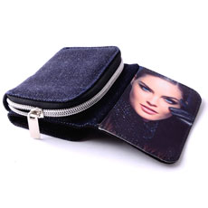 Zipped Photo Wallet