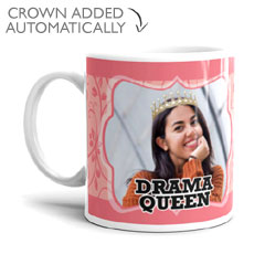 Drama Queen Personalised Mug
