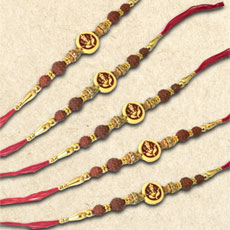 Designer Rakhi Set Of Five