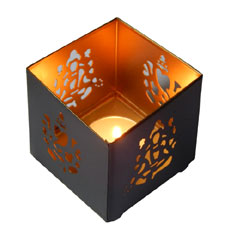 Lakshmi Ganesha Tea Light Holder