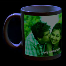 Glow In The Dark Personlised Mug